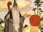 Gandalf from Rankin-Bass' The Hobbit