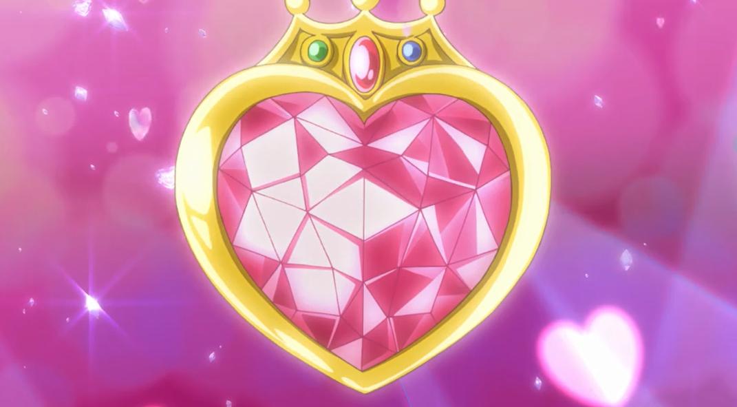 crystal heart wallpaper