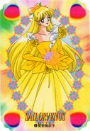 Minako Yellow Dress Card