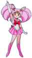 Chibi Moon's final pose (December 1994)