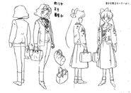 Minako Anime Design 24 and Mimi Anime Design