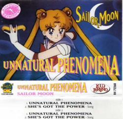 Sailor Moon Unnatural Phenomena (Cover)