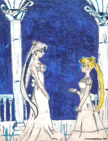 File:Queen and Princess Serenity by moonlightkisu.png