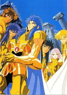Gold Saints Anime
