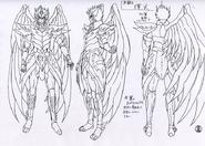 Kagaho body sheet