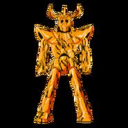 Alternate Sagittarius Gold Cloth Galaxian Wars Assembled