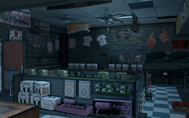 File:Friendly Fire - interior view of left wall in Saints Row The Third.png