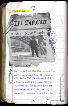 Saints Row Manual page 10 - February 3, 2006 newspaper clipping