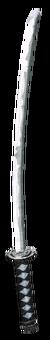 Samurai Sword in model viewer