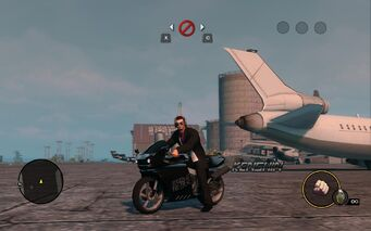 Kenshin with unique decals in Saints Row The Third