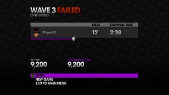 Whored Mode - Wave 3 failed