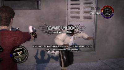 Jane Valderama unlock Saints Row 2