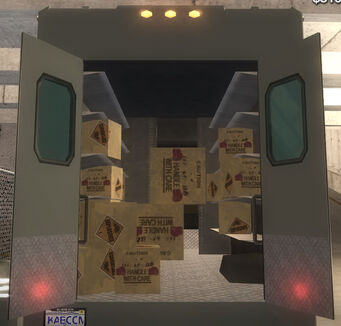 Delivery Truck - Fireworks - interior in Saints Row 2