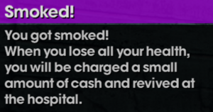 Saints Row The Third Smoked message