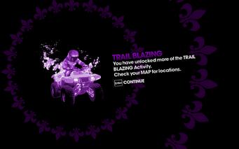 Trail Blazing more