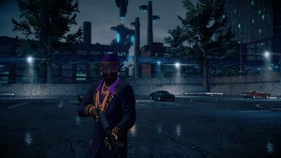 Zimos with Deacon 12-Gauge in Saints Row IV