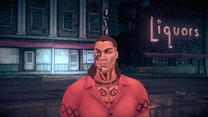 Maero - face in Saints Row IV