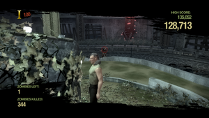 Zombie Uprising - shooting zombies in Saints Row 2
