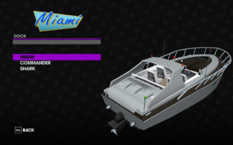 Miami in the Dock garage in Saints Row The Third