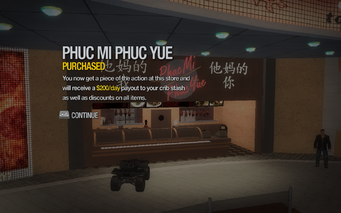 Phuc Mi Phuc Yue in Rounds Square purchased in Saints Row 2