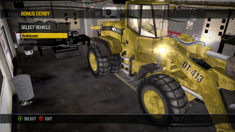 Bulldozer - Bonus Derby - Construction