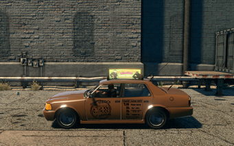 Taxi - left in Saints Row The Third