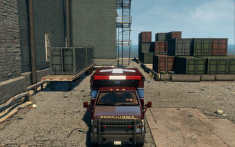 Ambulance - front in Saints Row The Third