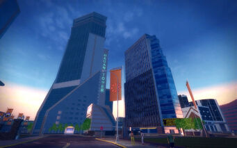 Mission Beach in Saints Row 2 - Hagan Tower