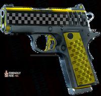 SRIV Pistols - Quickshot Pistol - 9MM Tactical - Taxi Cab