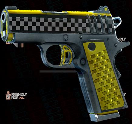 File:SRIV Pistols - Quickshot Pistol - 9MM Tactical - Taxi Cab.png