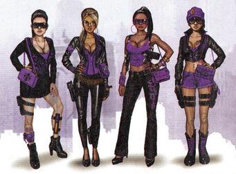 Concept saints females