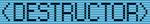 Destructor - Saints Row IV logo