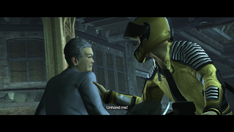 Kazuo Akuji saying Unhand me during Good D