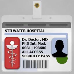 SR2 Badge Hospital