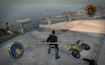 Combat Tricks - AR-50 XMAC Special unlocked
