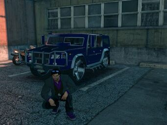 Bulldog - customised - front left in Saints Row The Third