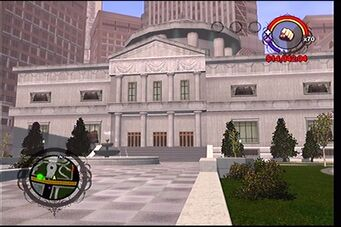 Courthouse in Saints Row