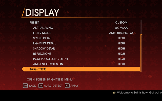 File:Saints Row Gat out of Hell - Main Menu - Options - Display II.png