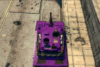 Challenger - customised - top view in Saints Row The Third