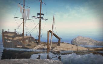 Shipwreck Cove - front right