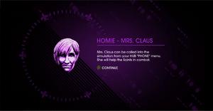 Mrs claus unlock homie