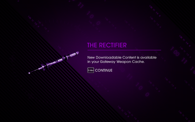 Saints Row IV DLC Unlock - The Rectifier