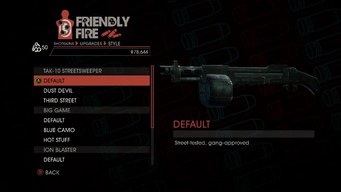 Weapon - Shotguns - Semi-Auto Shotgun - TAK-10 Streetsweeper - Default