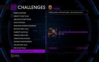 Challenge 52 Tentacle Bat Beatdowns