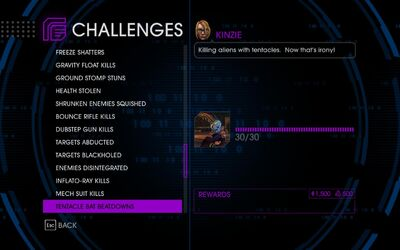 Challenge 52 Tentacle Bat Beatdowns