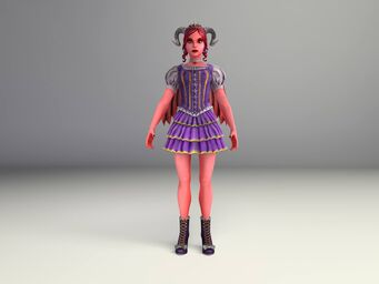 Jezebel Model - full body