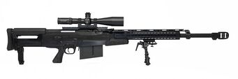 Accuracy International AS-50 - McManus 2020 real-life counterpart