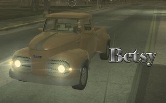 Betsy with logo in Saints Row 2