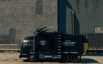 Steelport Municipal - left in Saints Row The Third