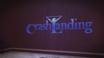 Crash Landing - sign